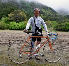 上野修一さんのコンクール優勝自転車