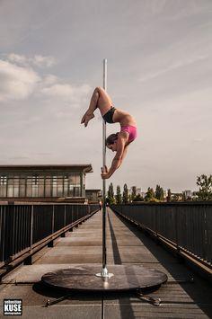 Pole Dance Fotoshooting mit Polemotions