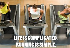 Running is simple.