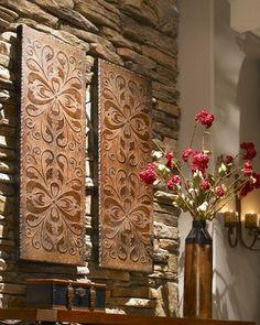 Toscana Wall Panels set of 2  $327.80