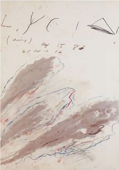 Cy Twombly, 'Lysian' (1983)
