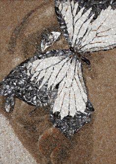 by Svetlana Ivanchenko ( sand and shell #mosaic #art )