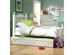 Shop for Legacy Classic Kids Trundle/Storage Drawer, 481-9500C, and other Youth Bedroom Beds at Swanns Furniture and Design in Tyler, TX. Enjoy instant sleepovers with the Summer Breeze Trundle. Mounted on casters, the drawer easily rolls under the bed.