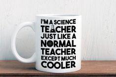Science teacher gift, cool science teacher mug (M359)