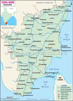 36 best tamilnadu map images on pinterest maps india map and tamil nadu indiamap gumiabroncs Gallery