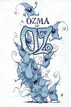 Ozma of OZ 5 cover by skottie young vintage illustration Character Sketches, Character Concept, Character Design, Comic Book Artists, Comic Artist, Comic Books, Zulu, Pop Art, Young Art