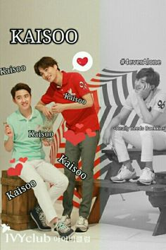 Isn't my OTP perfect? And Chanyeol too.