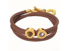 Sence Copenhagen armband H046 leopard gold plated | Jewelz & More