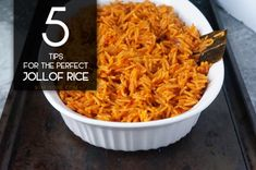 5 tips for the perfect Jollof rice - Linda mag Schafe - internationally inspired Side Recipes, Indian Food Recipes, Real Food Recipes, Cooking Recipes, Ethnic Recipes, African Recipes, Ghanaian Food, Nigerian Food, West African Food