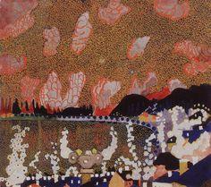 Town Artist: Kazimir Malevich Completion Date: 1910