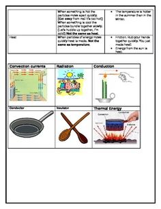 Thermal Energy Study Guide