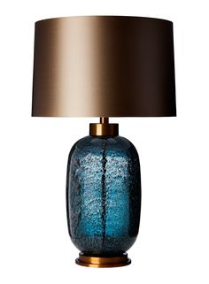 The latest range to join the Zoffany Collection the Amelia table lamp is available in three dramatic glass colour options Emerald Claret and Midnig Blue Table Lamp, Large Table Lamps, Bedside Table Lamps, Bedroom Lamps, Desk Lamp, Cool Table Lamps, Bedroom Lighting, Light Table, Deco Luminaire