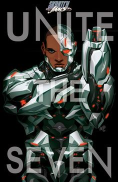 Unite The Seven: Cyborg by the CHAMBA