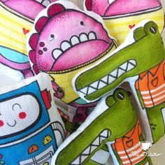 little monsters  #handmade