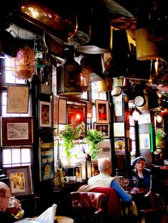 Best Pubs in London (This one in Kensington)  & The George near The Globe