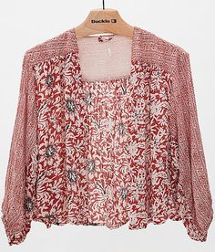 Free People Printed Cardigan at Buckle.com