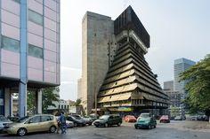 La Pyramide, Abidjan, Elfenbeinküste), architect: Rinaldo Olivieri, built: 1968/1973, photo: Iwan Baan