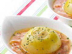 まるごとたまねぎのスープ野菜の画像
