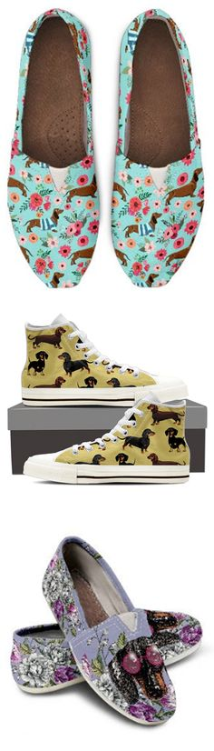 Do you love Dachshunds? Check out our amazing Dachshund Shoes, Bags, Socks and more!