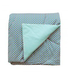 Plaid grand 1 pers. 140x200 Piazza turquoise