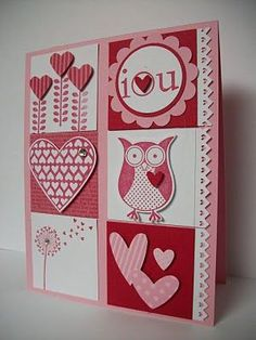 Stampin Up Valentine's ideas | CarrollAnn's Corner: January 2011 Stamp Camp ... | Cards, Cards, Card ...