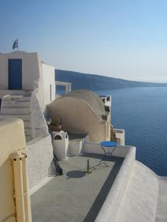 Super Greek style, up in Oia, Santorini
