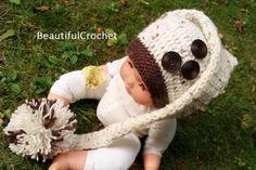 Ich biete diese handgemachte süsse Häkelmütze für Babies oder Kinder an. Ideal für die Neugeborenen oder Baby-Kinderfotografie. Erhältlich in allen Grössen und Farben. Material Baumwolle, Acryl und Holzknopf. Bitte geben Sie mir den Kopf Durchmesser des Kindes an oder das Alter in Monaten. Selbst Crochet Hats, Alter, Etsy, Material, Crochet Hats For Babies, Newborns, Newborn Beanie, Craft Gifts, You're Welcome