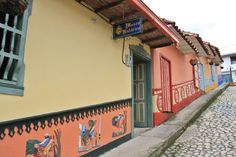 Guatape, Antioquia, Colombia Places Ive Been, Group, Architecture, Street, Board, Travel, The World, Guatape, Earth