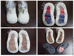 Ботиночки для куклы: от болванки до готового изделия - Ярмарка Мастеров - ручная работа, handmade