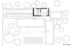 Casa El Bosque, proyectada por Ramón Esteve Ramones, Modern House Plans, House Floor Plans, Agi Architects, Architecture Plan, Dream Houses, My House, House Design, Interiors