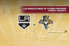 Los Angeles Kings vs. Florida Panthers
