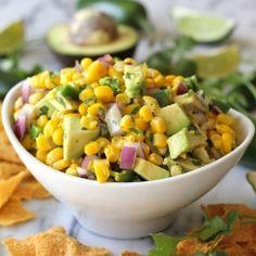 Avocado Corn Salsa - p