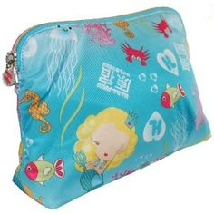 Harajuku Lovers G Of The Sea Cherry Bomb Cosmetic Bag, I need this for my family vacation.
