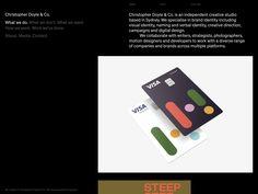 Christopher Doyle & Co. - christopherdoyle.co Creative Company, Brand Identity, Website, Digital, Branding