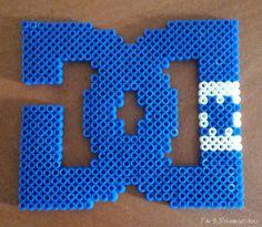 #hamabeads #pyssla #hamapearls #marcas #logotipos #dc