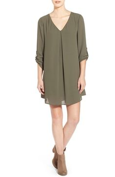Lush 'Karly' Shift Dress // perfect dress for post baby or even maternity too. Find it at @nordstrom #nordstrom