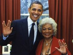 Live Long and Prosper!  I hope I look this good at age 79!