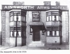 Ainsworth Arms, Halliwell Road.