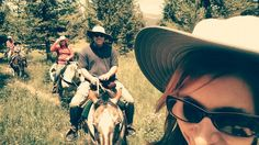 Cabin is beautiful & fun horse ride - Review of Yellowstone Horses - Eagle Ridge Ranch, Island Park, ID - TripAdvisor