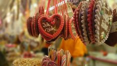 In much of the western world, gingerbread is a classic hallmark Christmas treat, and we seldom think about where it comes from. Hallmark Christmas, Christmas Treats, Christmas Ornaments, Heart Shaped Cookies, Western World, Christmas Travel, Gingerbread Cookies, Heart Shapes, Germany