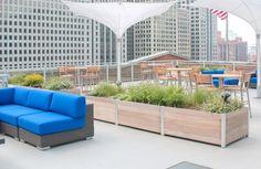 10 rooftop large garden planter