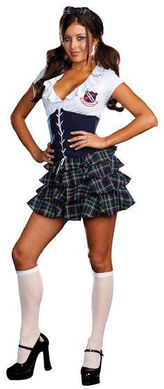 Buy Skippin School Costume MC-RL7682 from Costume-shop.com Plus u0026 Queen  sc 1 st  Pinterest & 11 best Schoolgirl Costumes images on Pinterest   Woman costumes ...