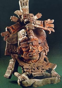 Urna funeraria con el dios viejo. Zapoteca (Monte Albán, México) Autor: Fecha: 400-600 Museo: Museo Nacional de Antropología de México