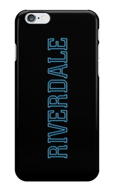 Our Riverdale Logo Phone Case is available online now for just £6.99. Fan of Riverdale? You'll love our Riverdale Logo phone case, available for iPhone, iPod & Samsung models. Weight: 28g, Material: Plastic, Production Method: Printed, Authenticity: Unofficial, Thickness: 12mm, Colour Sides: Black, Compatible With: iPhone 4/4s | iPhone 5/5s/SE | iPhone 5c | iPhone 6/6s | iPhone 7 | iPod 4th/5th Generation | Galaxy S4 | Galaxy S5 | Galaxy S6 | Galaxy S6 Edge | Galaxy S7 | Galaxy S7 Edge