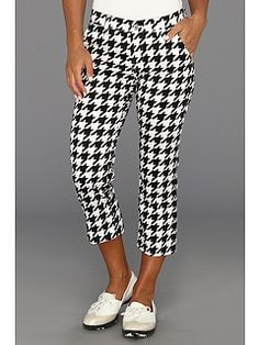 Loudmouth Golf Oakmont Houndstooth Capri:
