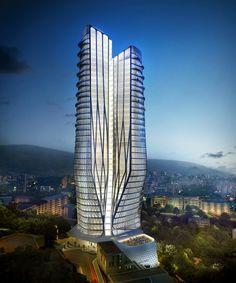 Pasargrad Hotel - Client: Zaha Hadid Architects - Location: Teheran  © Methanoia