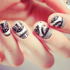Pizzo Lace Nail Wraps by NCLA - www.vollow.me