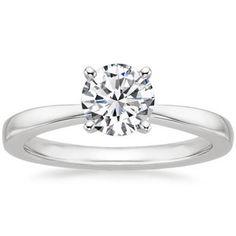 The Petite Taper Ring #BrilliantEarth