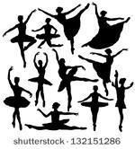 Free Vector Ballet Silhouette