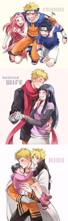 The bonds of #naruto